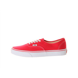 КЕДЫ VANS Authentic red white sole