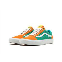 КЕДЫ VANS Old Skool checkerbord golf wang orange