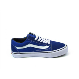 КЕДЫ VANS Old Skool imperial blue white sole