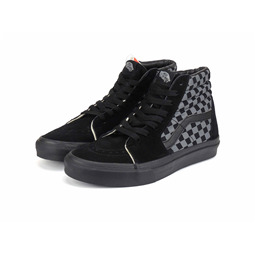 КЕДЫ VANS SK8-Hi checkerboard grey black
