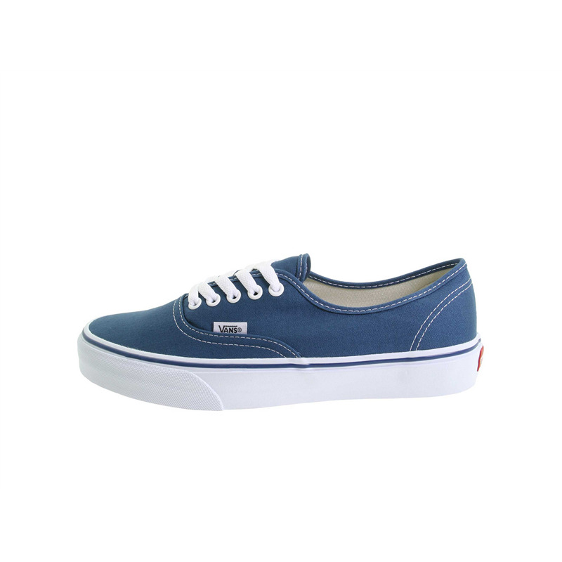 vans authentic navy white sole
