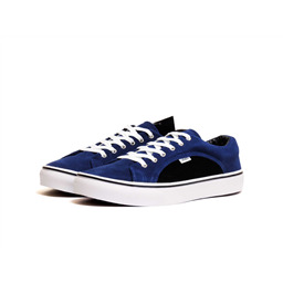 КЕДЫ VANS Lampin blue black white